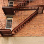 Fire Escape in New York