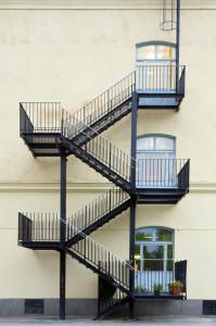 Fire Escape Ladder in New York
